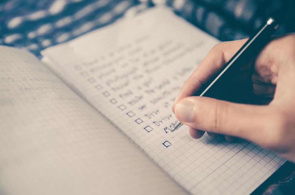 grāmatu rakstīšanas plānošana